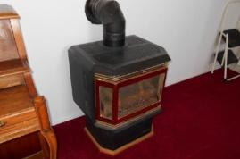 Primary heat - propane fireplace