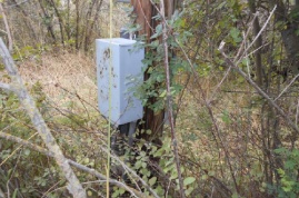 Electrical for shared well on adjacent property