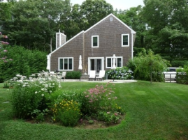 If I decide to paint the house before we do new siding, I'm thinking a gray like this